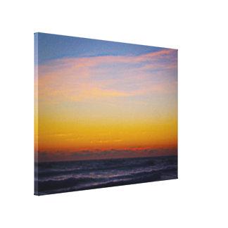 Day Brakes Over the Atlantic Ocean Canvas Print