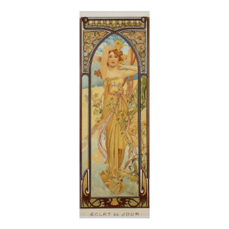 Day by Alfons Mucha Poster