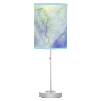 Day by the Lake Watercolor Lamp