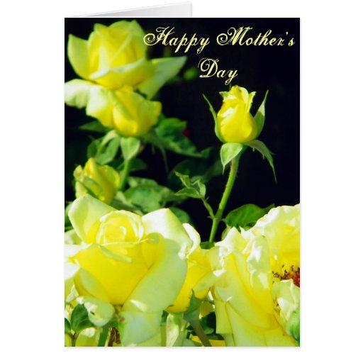 Day_Card de la madre feliz Tarjetón