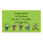 day care,child care, teacher or  babysitting business cards