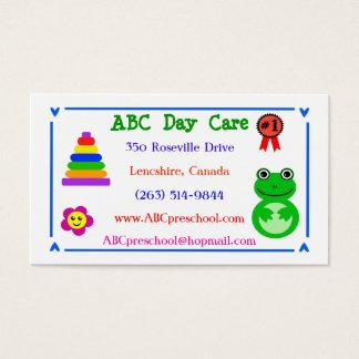 Day Care / Nursery / Preschool Business Cards