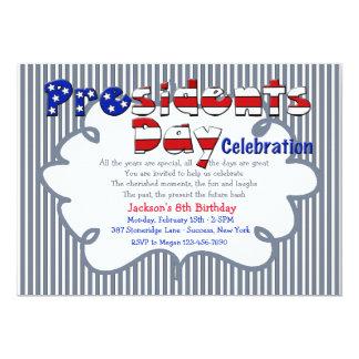 Day Celebration Invitation de presidente Invitación