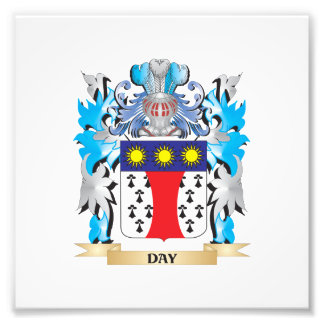 Day Coat of Arms - Family Crest Photographic Print