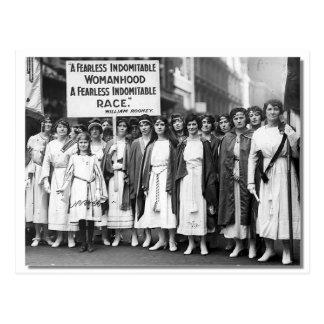 Day de St Patrick de los Suffragettes, 1921 Postal