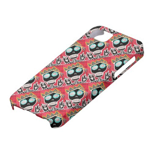 Day Dead - Pirate Sugar Skull Angel iPhone Case iPhone 5/5S Cases