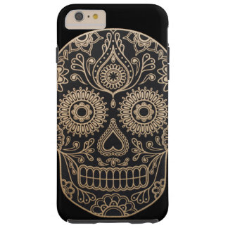 Day Dead Sugar Skull Tough iPhone 6 Plus Case