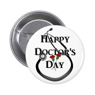 Day del doctor feliz pins