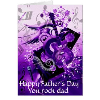 Day_ del padre feliz tarjeta pequeña