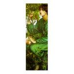 Day Dream Bookmark by Dante Gabriel Rossetti Business Card Templates