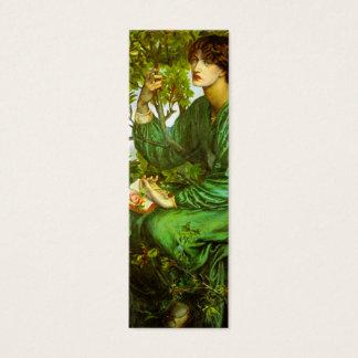 Day Dream Bookmark by Dante Gabriel Rossetti Mini Business Card