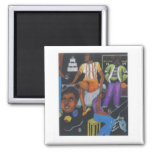 Day Dreamin' 2 Inch Square Magnet