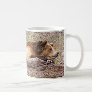 Day Dreaming Grizzly Coffee Mugs