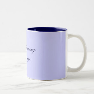 Day dreaming To escape Two-Tone Coffee Mug