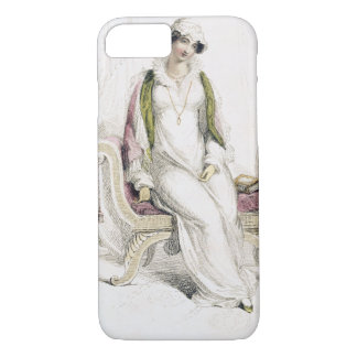 Day dress, fashion plate from Ackermann's Reposito iPhone 8/7 Case