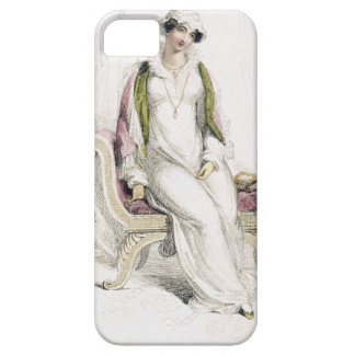 Day dress, fashion plate from Ackermann's Reposito iPhone SE/5/5s Case