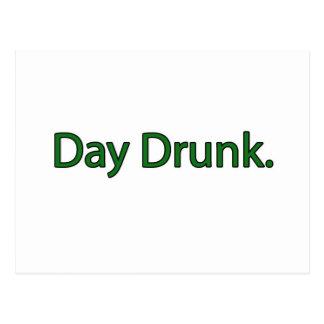 Day Drunk. Postcard