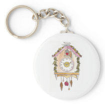 Day Fifty two - Cuckoo Clock Keychain