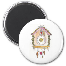 Day Fifty two - Cuckoo Clock Magnet