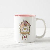 Day Fifty two - Cuckoo Clock Two-Tone Coffee Mug
