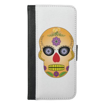 Day fo the dead Emar Design iPhone 6/6s Plus Wallet Case