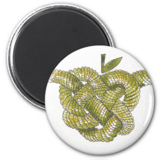 Day Forty seven - Celtic Heart Knot 2 Inch Round Magnet