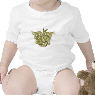 Day Forty seven - Celtic Heart Knot Baby Bodysuit