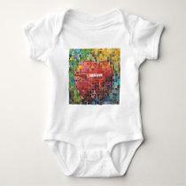 Day Four - Mosaic Baby Bodysuit