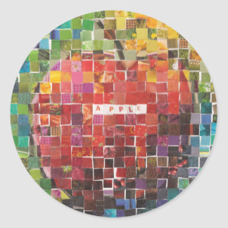 Day Four - Mosaic Classic Round Sticker