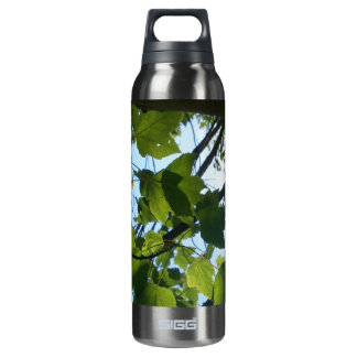 Day Hike Studios Green Leaves Thermos Bottle