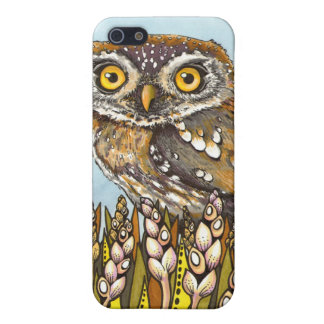 Day is full of joy - pearl-spotted owl iPhone 5 case