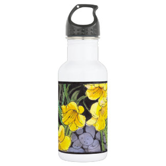 Day-Lilies Garden Stainless Steel Water Bottle