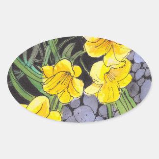 Day-Lilies Garden Stickers