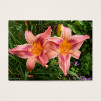 Day Lily 112 ~ ATC Business Card