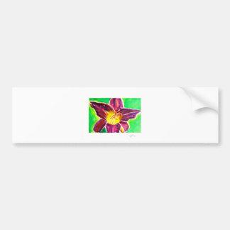 Day Lily Bumper Sticker