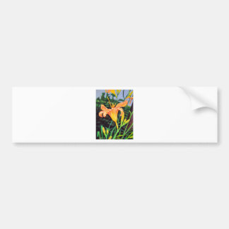 Day Lily Bumper Sticker