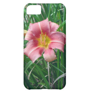 Day Lily Peach Pink iPhone 5C Covers