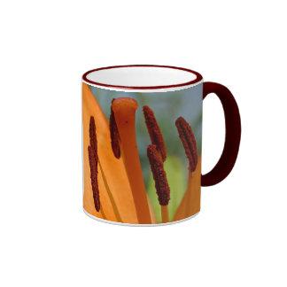 day-lily ringer ceramic mug