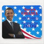 Day Mousepad de Barack Obama de presidente Tapetes De Raton