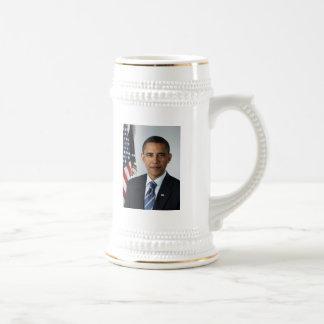 Day Mug/Barak Obama de presidente Jarra De Cerveza