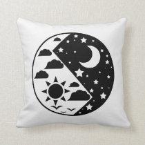 Day & Night Yin Yang Pillow