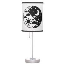 Day & Night Yin Yang Table Lamp