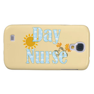 Day Nurse Day Shift Nurse Design with Flowers Samsung Galaxy S4 Cover