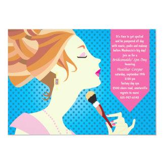 Day of Beauty Spa Invitation