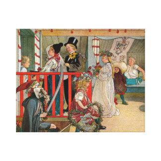 Day of Celebration Canvas Prints