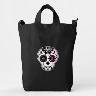 Day of dead | cute sugar skull duck bag