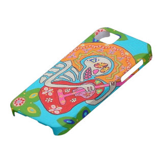 Day of Dead - Mariachi Serenade Skeleton - iPhone iPhone 5 Covers
