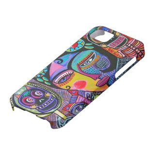 Day of  Dead - Mexican Woman Mirrors - iPhone iPhone 5 Covers