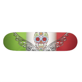 day of dead skateboard deck