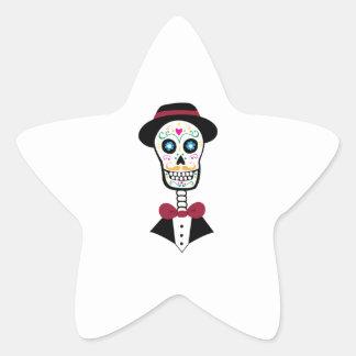 Day Of Dead Star Sticker